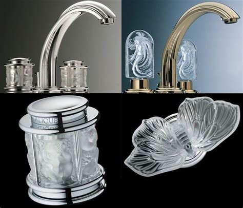 crystal bathroom taps thg lalique crystal faucets