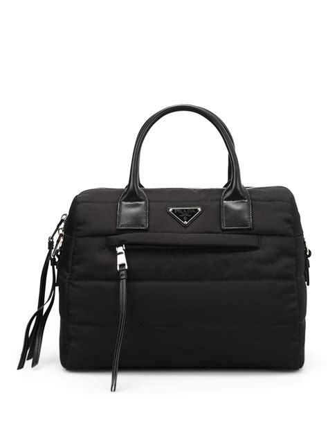 Quilted Bowling Bag Handbag Intl quilted fabric bowling bag by prada bowling bags ikrix