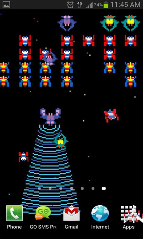 game live wallpaper download free galaga game live wallpaper free apk download for