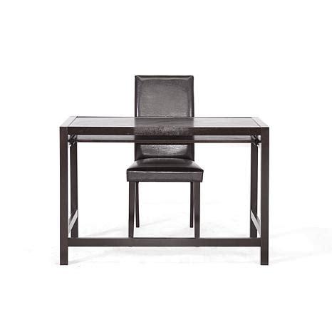 Modern Desk Set Astoria Brown Modern Desk And Chair Set 6714319 Hsn