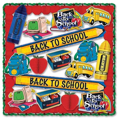 Classroom Decoration Kits by Back To School Classroom Decorating Kit Partycheap