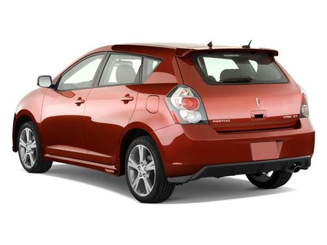 Pontiac Vibe 2010 by 2010 Pontiac Vibe 4 Door Hb Gt Fwd Angular Rear Exterior View