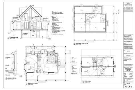 house building drawing plan rod crocker 187 residential