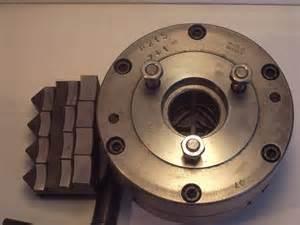 Key Lighting Emco Self Centering 4 Jaw Chuck 248 125mm Niels Machines