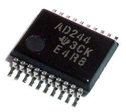 Mc14049bcp sn74act244dbr octal buffer driver ic instruments