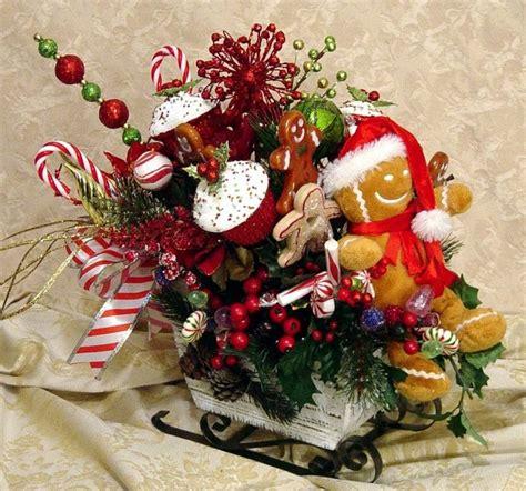 sleigh centerpieces