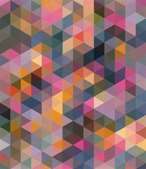 pattern design photo triangle coloured patterns mark catley design