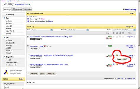 ebay shipping mtgmintcard ebay stores