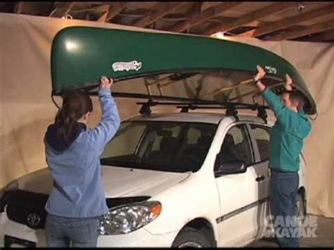 How To Transport A by Coach How To Transport Your Canoe