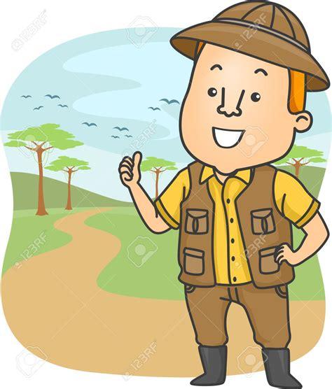safari guide clipart cartoon safari guide clipart 25