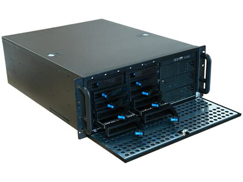 Rack Mount Drive Chassis by Rm 4450 4u 21 6 In 10 Swappable Trays Rackmount