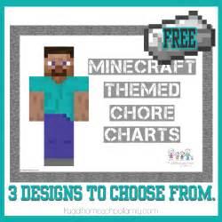 free minecraft chore charts
