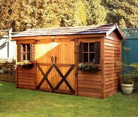 double door sheds backyard cottages garden cottage kits