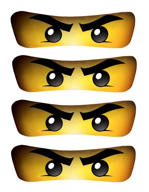 printable ninjago eyes for balloons lloyd s ninjago eyes high resolution by