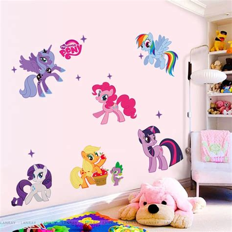 my little pony home decor ᑐnew arrival cute kids home decor decor my little pony