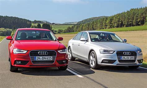Versicherung Audi A4 by Audi A4 1 8 Tfsi Gegen A4 2 0 Tdi Vergleich Benziner