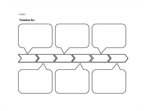printable timeline organizer sle blank timeline template 7 free documents in pdf