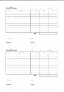 journal voucher template 171 double entry bookkeeping
