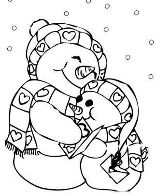 dibujos navideños para colorear de muñecos de nieve los mejores dibujos de navidad trendy dibujos para