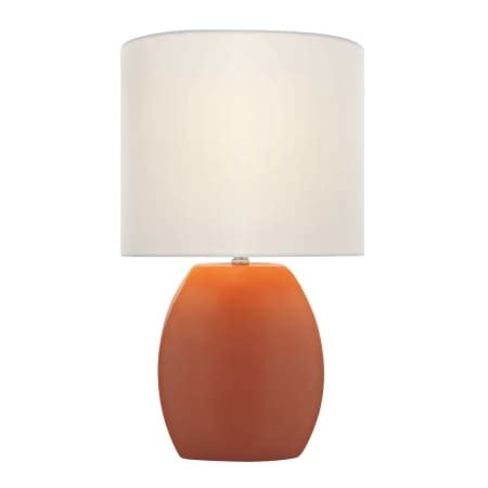 Ceramic Table Ls Lite Source Ls 21506orn Orange Ceramic Table L From The Reiko Collection Lightingdirect