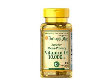 Puritan Puritan S Pride Vitamin Vit D 3 D 3 D3 1000iu 1000 Iu 200 Sg puritan s pride vitamin d3 10000 iu
