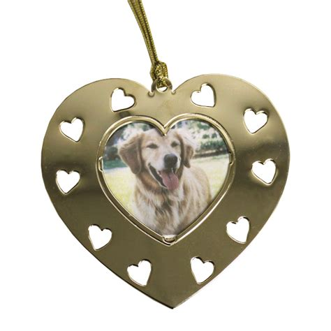 mini picture frame ornaments heart cut outs