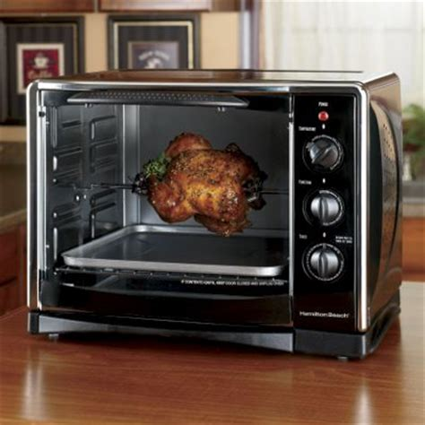 Hamilton Countertop Oven With Convection And Rotisserie by Hamilton 174 Toaster Rotisserie Convection Oven From