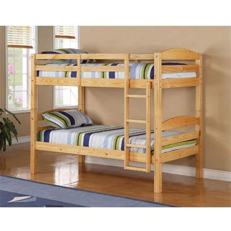 Walker Edison Bunk Bed Walker Edison Solid Wood Size Bunk Bed Bwstotnl