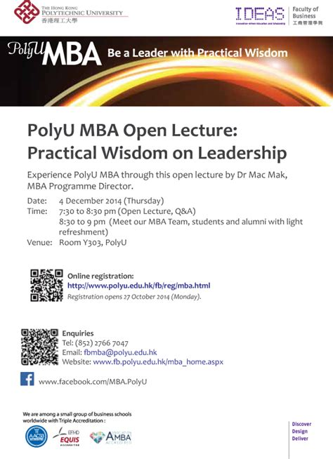 Polyu Mba by Polyu Invites Nomination For Outstanding Alumni Award