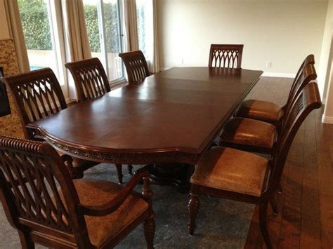 large dining room tables bernhardt dining table