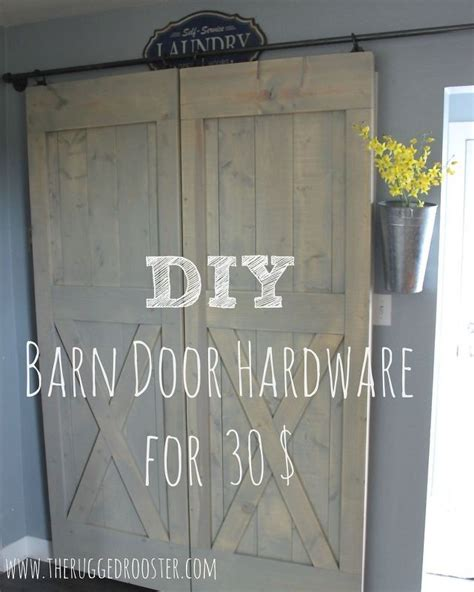 how to make a rolling barn door 1000 ideas about barn door hardware on barn