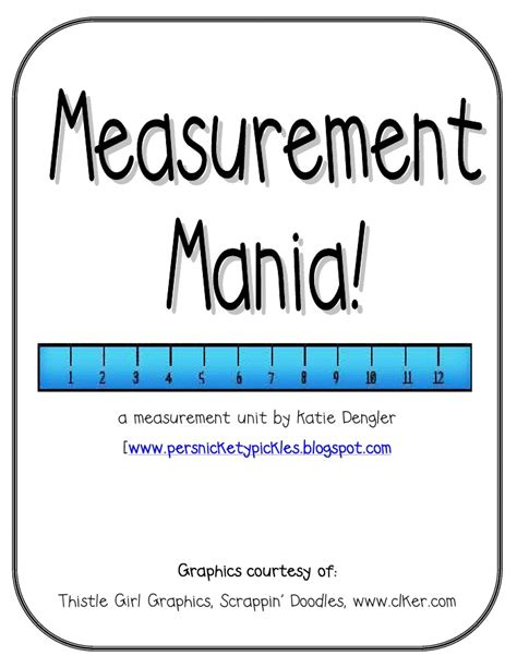 printable area width units wonderful free pdf measurement unit school pinterest