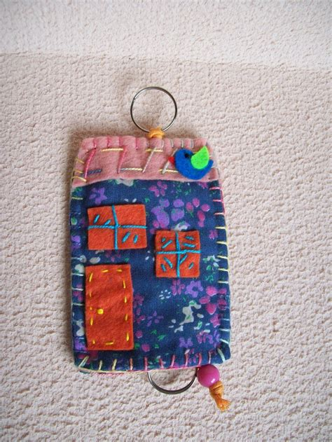 Chave Cloth 246 best images about fabric quilted key fobs on coin purses porte clef and