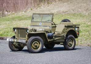 Wwii Jeep Wwii Jeep Found In Crate Set To Cross Greenwich Auction
