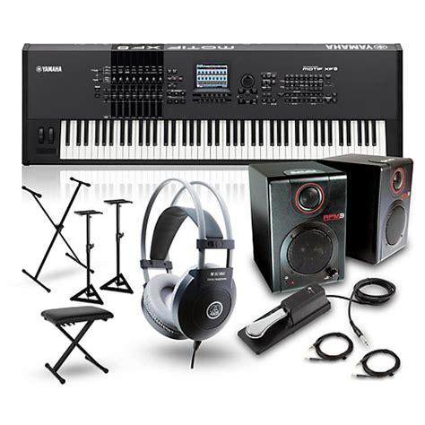 motif xf pattern to song yamaha motif xf8 88 key music production synth w rpm3