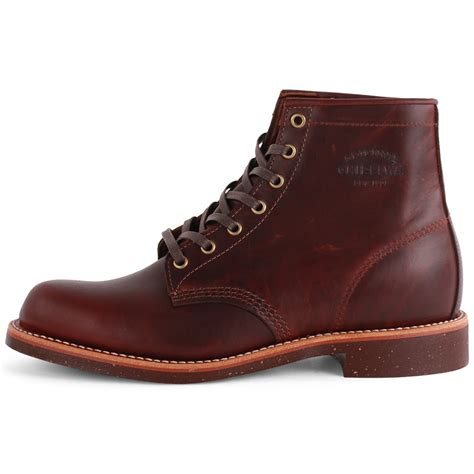 chippewa 1901m25 mens leather cherry boots new shoes