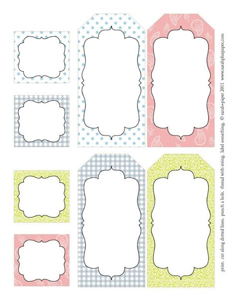 free tags templates printable free easter printable labels tags easter labels easter