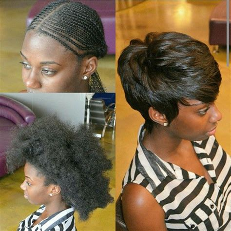 sew in weave short hair atlanta pixie cut sew in put all that hair away to a flat