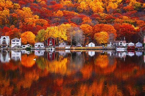 color reflections autumn reflections outdoor photographer