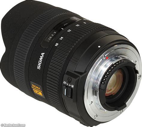 Sigma 8 16mm F45 56 Dc Hsm For Nikon sigma 8 16mm