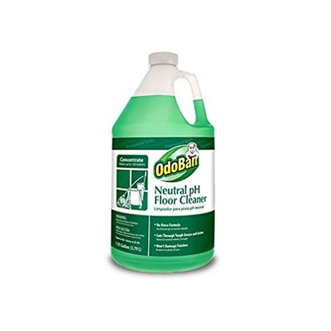 1 gallon bottle floor cleaner odoban 936162 g neutral ph floor cleaner concentrate 1
