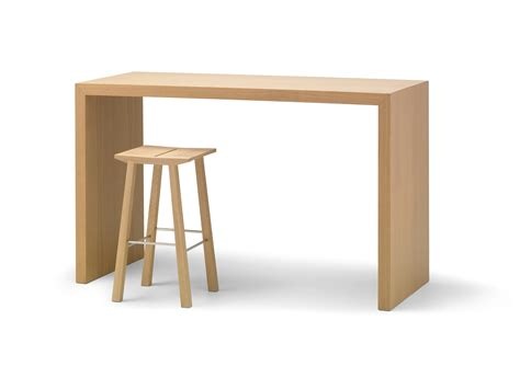 wooden high bar table folding table wood table top