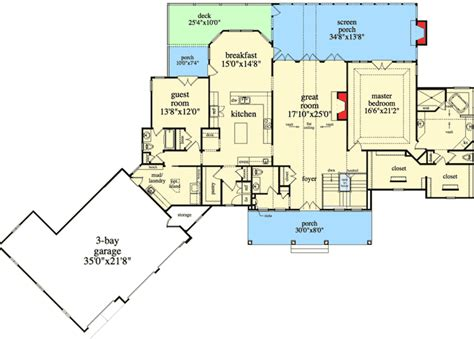 ranch floor plans with walkout basement mountain ranch with walkout basement 29876rl architectural designs house plans