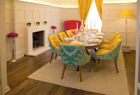 turquoise dining room colorful archives panda s house 4 interior decorating ideas