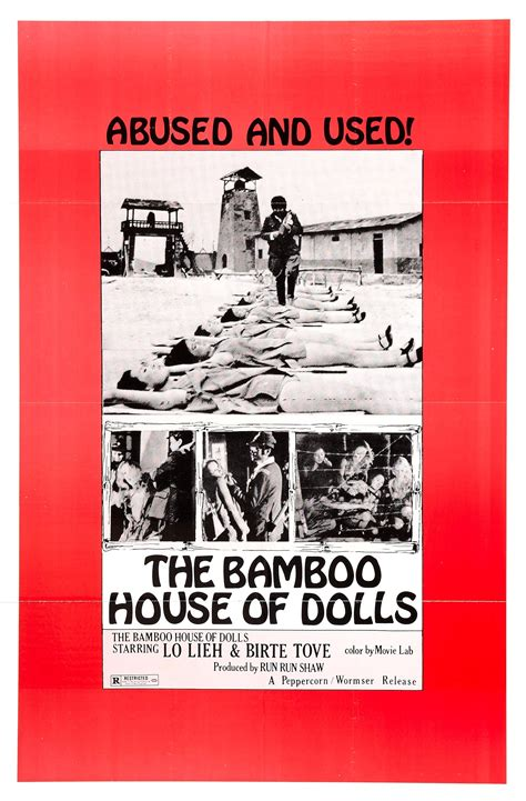 the bamboo house of dolls poster for the bamboo house of dolls nu ji zhong ying 1973 hong kong wrong side