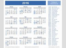 2016 Calendar Templates and Images 2016 Free Printable