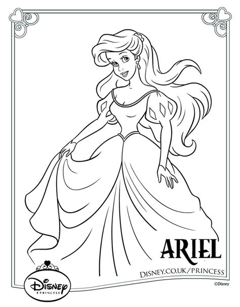Print It Princess Colouring Pages Gallery Images Color