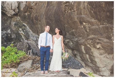 wedding ceremony after eloping elopement on ironwoods wedding network
