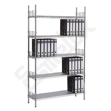 estantes de oficina estanter 237 a cromada para oficinas