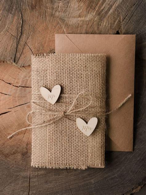 Hochzeitseinladung Jute by Selbst Gemacht Ist Sch 246 Ner Diy Bastelideen